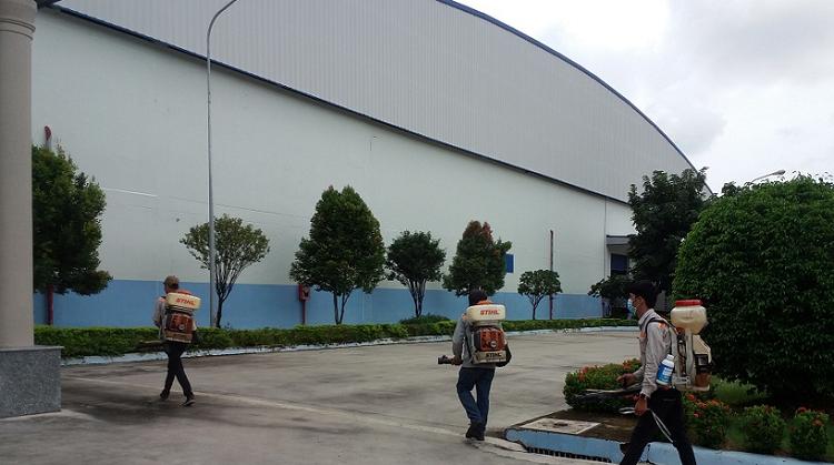 dịch vụ diệt côn trùng cho nhà máy